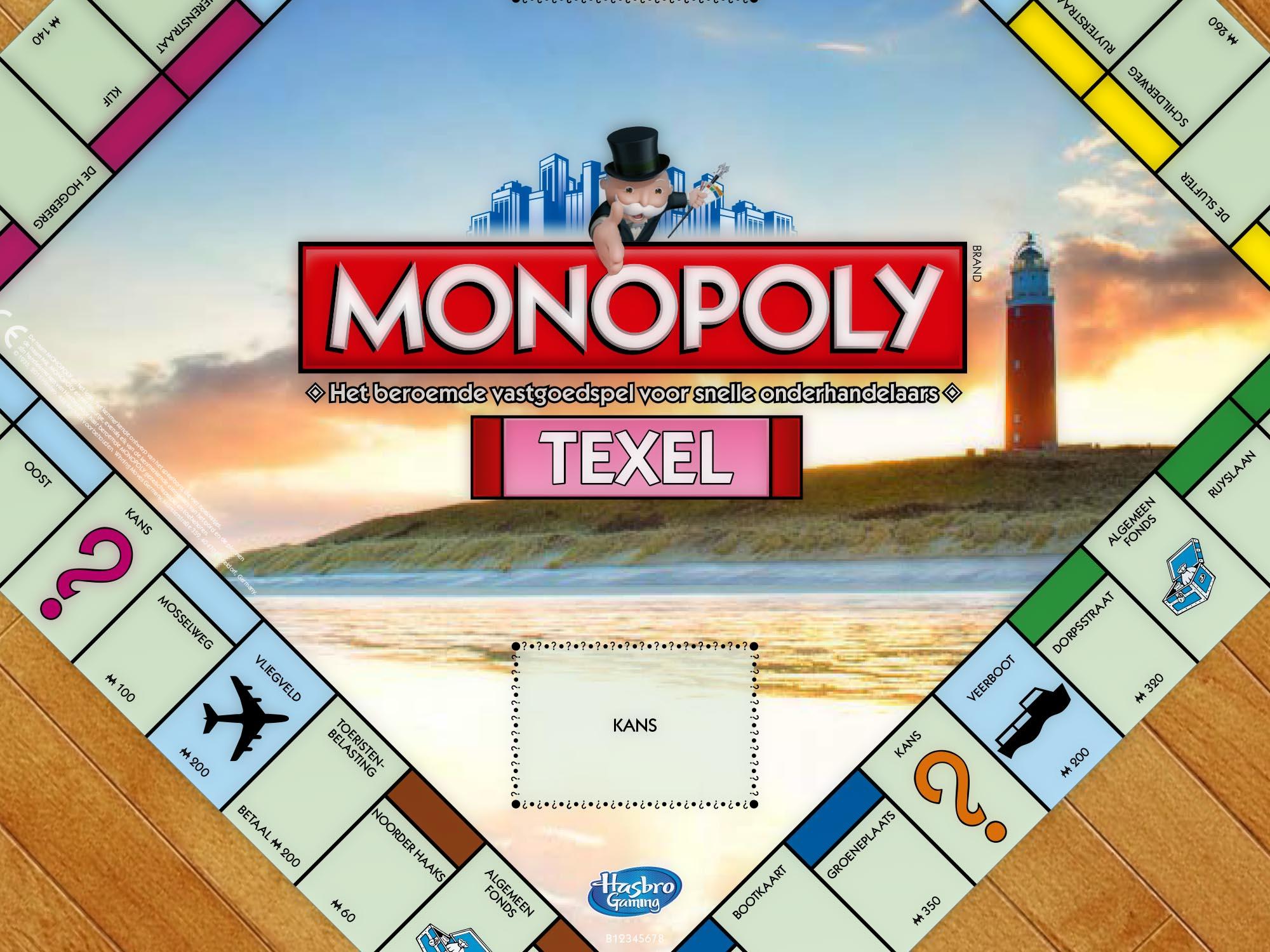Speelbord Monopoly Texel